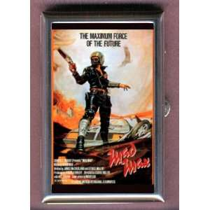 MAD MAX 1979 POSTER MEL GIBSON Coin, Mint or Pill Box: Made in USA!