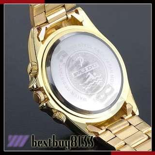 New Luxury Crystal Jewellery Decor Ladies Womens Wrist Watch Golden