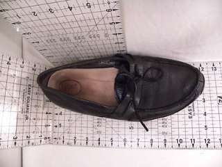 Ugg Slippers Loafers Black Leather 11.5 Mens Casual Shoes