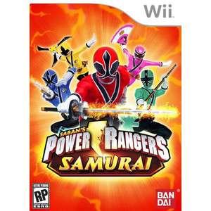 NEW Power Rangers Samurai 80035