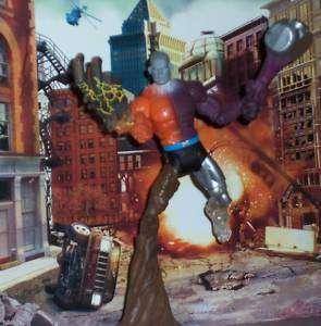 DC UNIVERSE CLASSICS ELEMENT MAN METAMORPHO BAF FIGURE