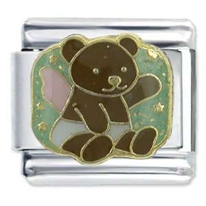 Buddhist Bracelet Angel Teddy Bear Italian Charms Pugster Jewelry