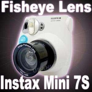 HOLGA Fisheye Lens Fuji Fujifilm Instax Mini 7S K200NM Polaroid 300