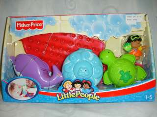 FISHER PRICE LITTLE PEOPLE ANIMAL FUN BATH BAR NEW