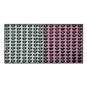 Marilyn Monroes Lips, 1962 Finest LAMINATED Print Andy