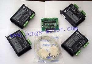 Axis Stepper motor driver PEAK 4.2A,18 50VDC CNC New