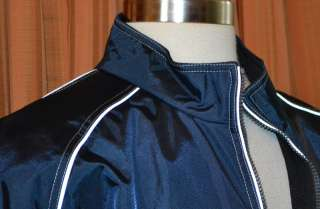 PEPSI BOARDROOM BLUE CASUAL NYLON FULL ZIP WINDBREAKER WIND JACKET