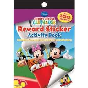 MICKEY MOUSE Reward Stickers Activity Book 12PK   12 per