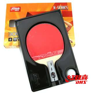 DHS TT Ping Pong Paddle Penhold 3 Star For Professional