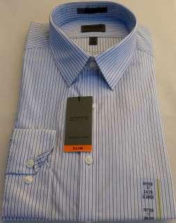 New Mens Arrow Slim Fit French Grey Color Stripes Dress Shirt