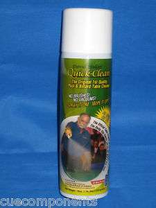 Quick Clean Pool Table Felt Cleaner   Spray Can X 1
