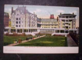 1907 POSTCARD DENNIS HOTEL ATLANTIC CITY NEW JERSEY NJ