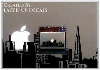 San Francisco skyline macbook pro laptop skin vinyl decal cable car sf
