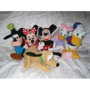 Bag Plush   Mickey, Minnie, Goofy, Pluto, Donald and Daisy Everything
