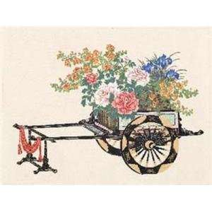 Spring Flower Cart Poster Print
