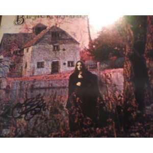 Black Sabbath Black Sabbath Record Album Lp Signed By Ozzy