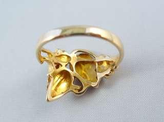10K BLACKHILLS GOLD LADIES LEAF DESIGN RING   CLASSIC