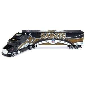 New Orleans Saints 2008 Peterbilt Tractor Trailer Die Cast