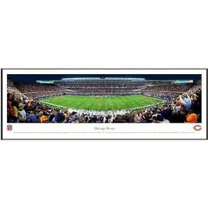 Chicago Bears Soldier Field Framed Panoramic Picture