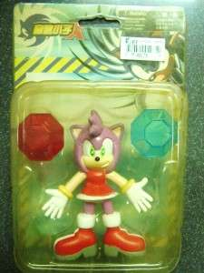 SONIC X Amy Rose  ACTION FIGURE 3 SEALED