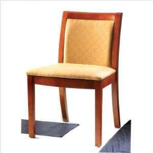 Black Beech Grand Rapids Strata Fabric Dining Side Chair