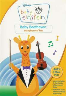 Disney   Baby Einstein Baby Beethoven   Symphony of Fun   DVD