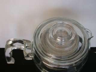 FLAMEWARE GLASS RANGE TOP PERCOLATOR COFFEE POT 4 6 CUP 7756