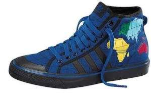Original JEREMY SCOTT Shoes NIZZA HI Map World