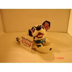 Disney Lucky Dalmatian Mini Bean Bag Plush Toy New with