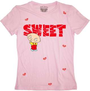 New Family Guy Stewie Sweet Womans Shirt Funny Cartoon