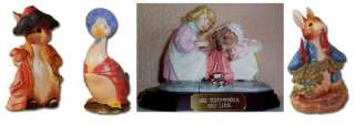 Would You Like To Buy BESWICK BEATRIX POTTER FIGURINES with up