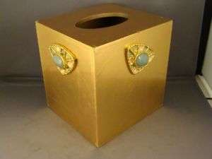 MIKE & ALLY JEWELED TISSUE BOX COVER