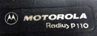 Motorola Radius P110 8 Channel 2 Way Portable Radio