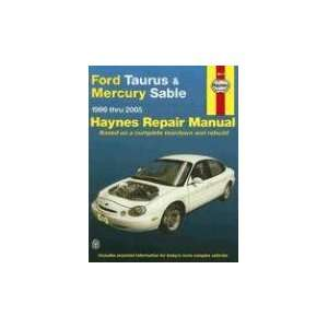 Ford Taurus & Mercury Sable, 1996 2005 (Haynes Automotive