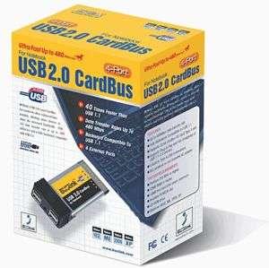 Brand New BUSlink 4 Port USB 2.0 Cardbus Card Notebook