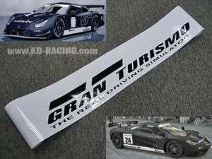 Gran Turismo Stealth Windshield Decal Sticker GT5 GTR