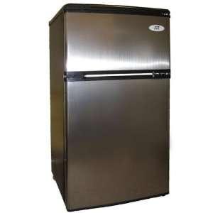 Compact Fridge By Spt   3.2 Cu.Ft. Double Door Refrigerator