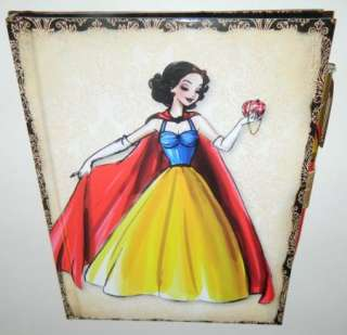 DESIGNER PRINCESS COLLECTION SNOW WHITE JOURNAL NOTEBOOK W/ PEN NEW
