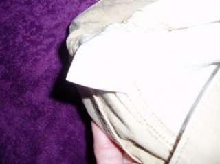 LEVIS NOUVEAU S tan LOW slouch cargo capri pants 30x22