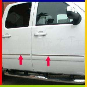 07 09 Chevy Tahoe Stainless Body Side Molding Trim