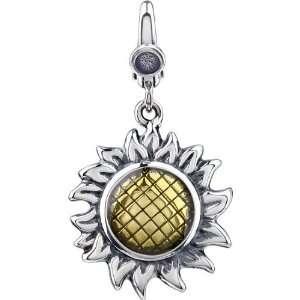 Jewelry Locker Sterling Silver Sun Flower Charm Jewelry