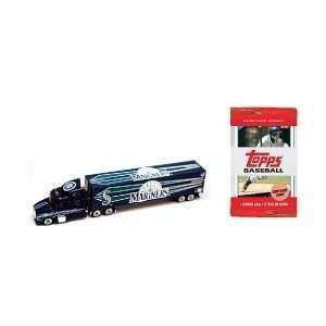 2009 MLB 180 Scale Tractor Trailer Diecast   Seattle