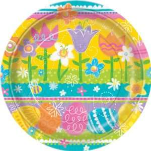 Lets Party By Unique Easter Spring Eggs Dinner Plates
