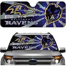 Team ProMark Baltimore Ravens Auto Sunshade