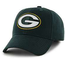 Youth 47 Brand Green Bay Packers Basic Logo Structured Adjustable Hat