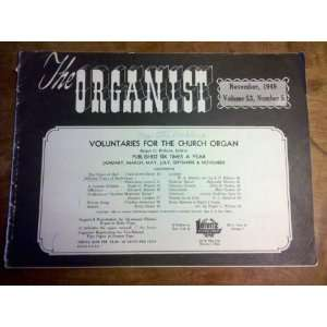 The Organist (Voluntaries For The Church Organ November