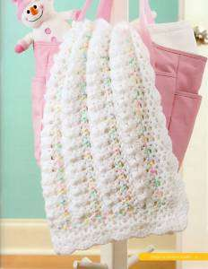 CROCHET PATTERNS YEAR OF BABY AFGHANS 12 DESIGNS BOOK 5