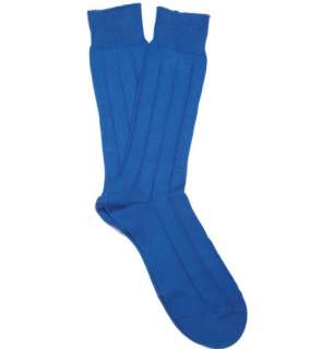 Accessories  Socks  Formal socks  Casual Ribbed