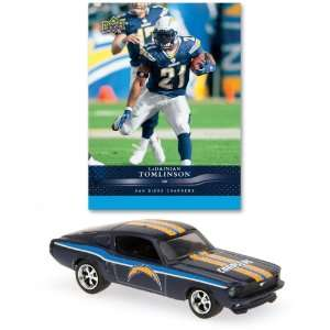 San Diego Chargers 1967 Ford Mustang Fastback Die Cast