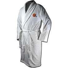 McArthur Sports Cleveland Browns Team Logo Embroidered Bath Robe